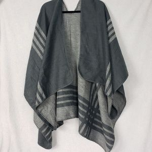 BB Dakota Poncho Wrap Cardigan Sweater